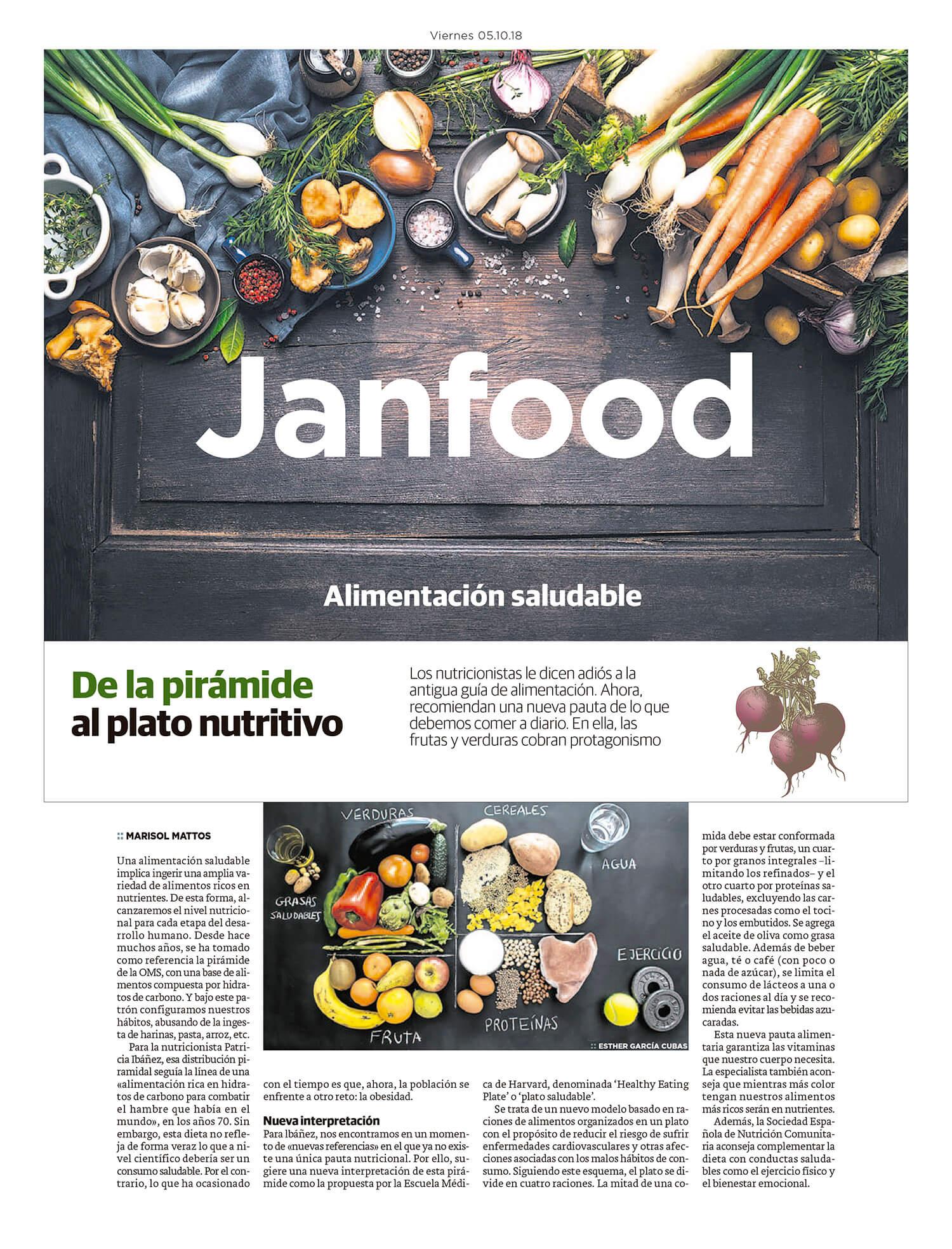 Reportaje Alimentación